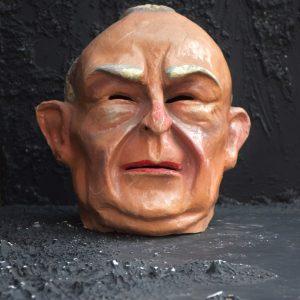 1950s Papier Mache Theatre Head