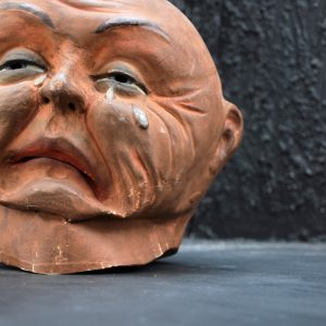 Double Sided Carnival Head