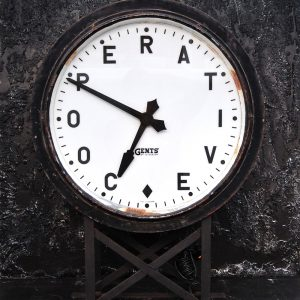 Gents of Leicester Station Master Clock (SOLD)