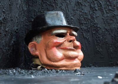 Vintage Carnival Paper Mache Winston Churchill 3