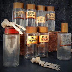 Victorian Apothecary Jars (SOLD)