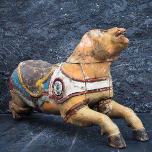 Circa 1905 Carousel Pig