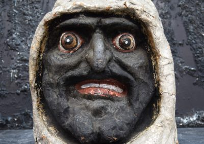Papier Mache Goblin Head from Paris (SOLD) 12