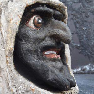 Papier Mache Goblin Head from Paris (SOLD)