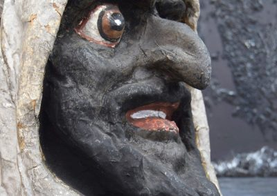 Papier Mache Goblin Head from Paris (SOLD) 2