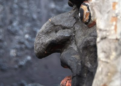 Papier Mache Goblin Head from Paris (SOLD) 8
