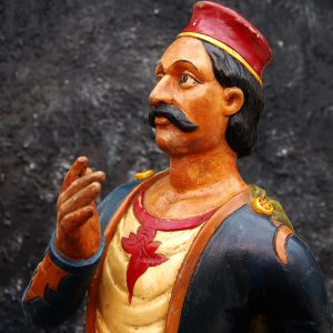 English Tobacco Advertising figure c1860