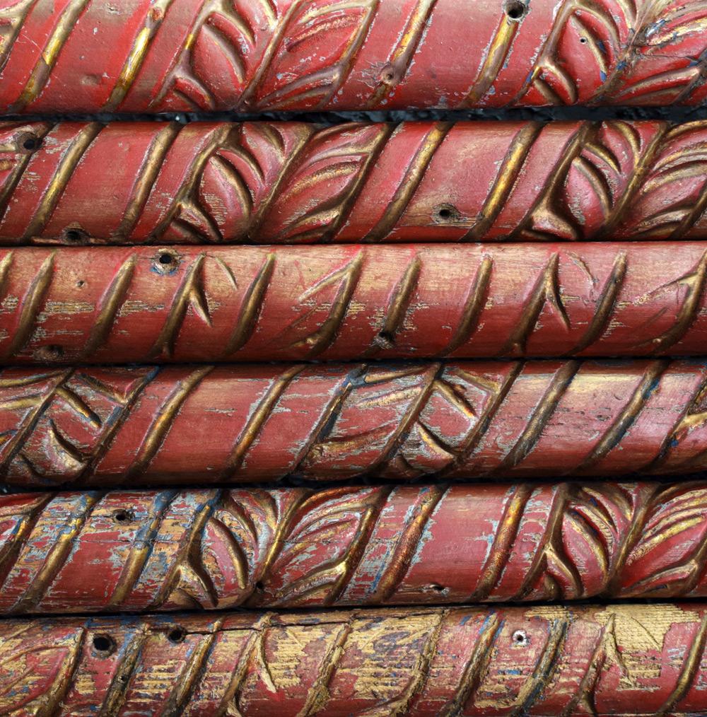 19th Century Wagon Panels