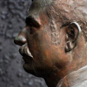 Bronze Bust Circa 1894