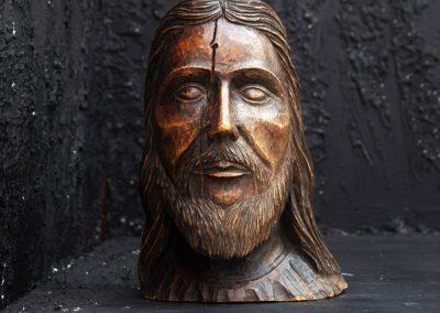 19th Century Christ Head 2