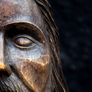 19th Century Christ Head