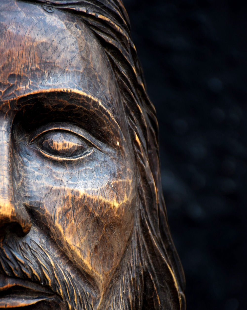 19th Century Christ Head