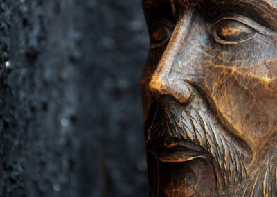 19th Century Christ Head 6