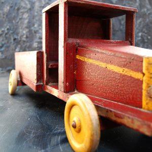 Folk Art Toy Truck