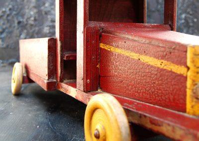 Folk Art Toy Truck 2