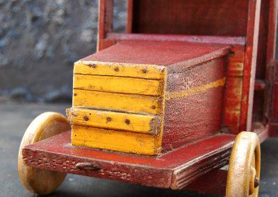 Folk Art Toy Truck 3