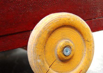 Folk Art Toy Truck 6