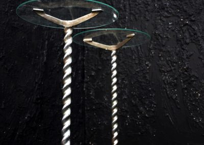 Metal Barley Twisted Stands 2