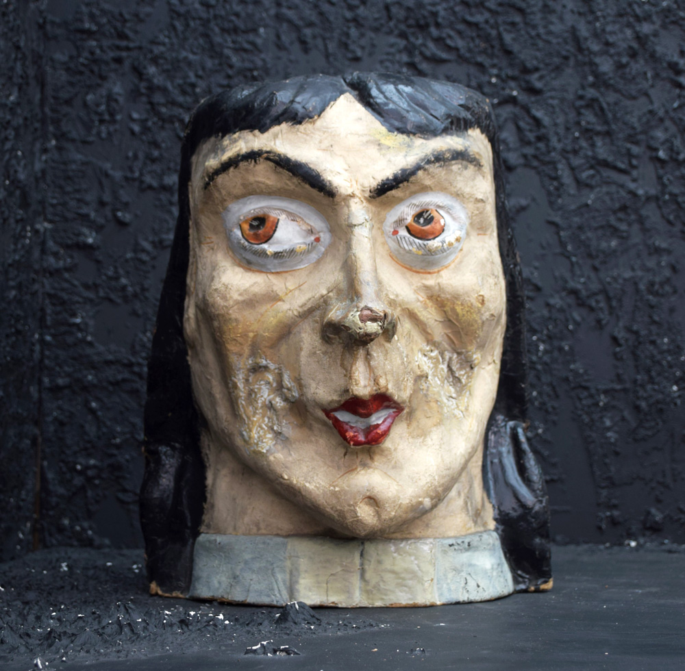 Papier Mache Ladies Head from Paris (Sold)