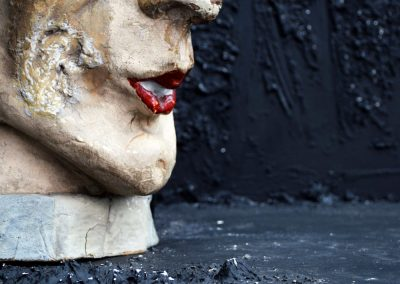 Papier Mache Ladies Head from Paris (Sold) 4