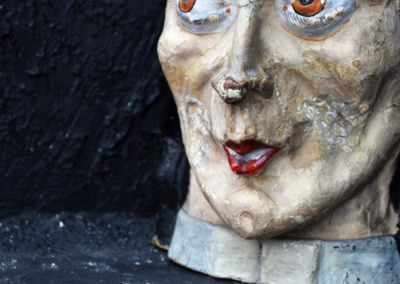 Papier Mache Ladies Head from Paris (Sold) 8