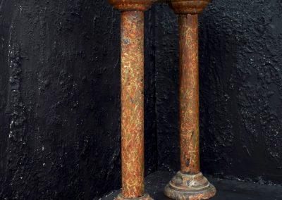 Faux marble Columns c