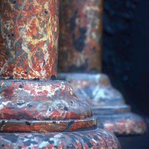Faux marble Columns c.1880