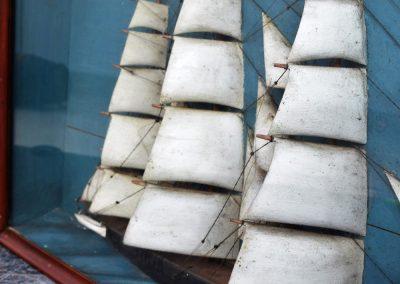 French Ship Diorama (Sold) 7