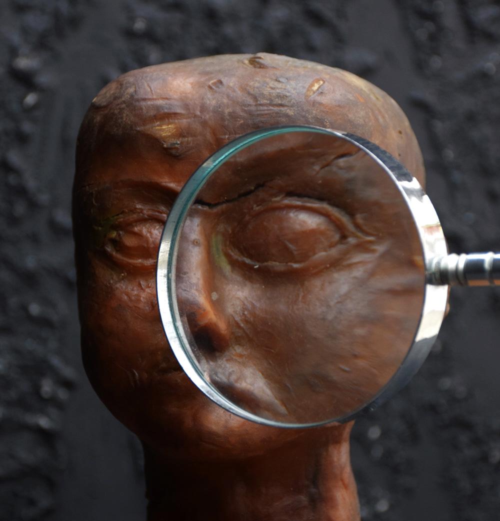 Wax Macabre Head (Rare)
