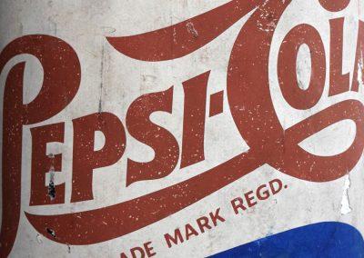 Papier Mache Pepsi Cola Advertising Bottle 10