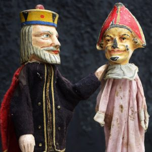French Puppet Set c.1940