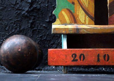 Antique Passe-Boules Fairground Game 3