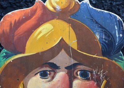 Antique Passe-Boules Fairground Game 4