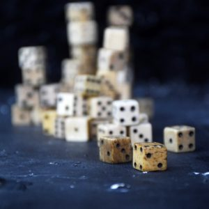 Napoleonic Prisoner of War Dice