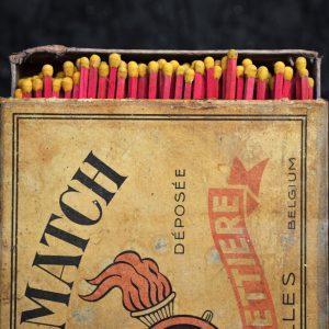 Advertising Match Box c.1925