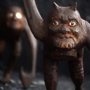 Krampus Figures c.1900