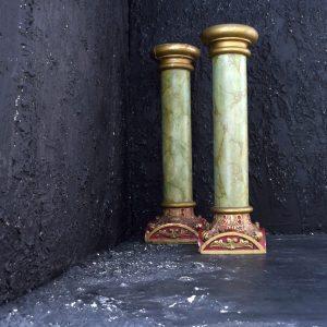 English Theatre Display Columns