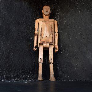 Life-size Robot Folk-art Man c1930