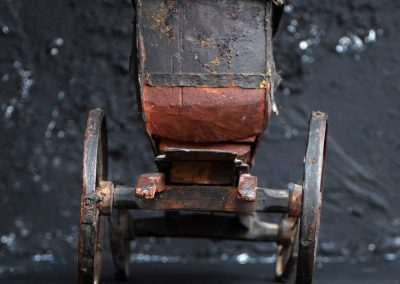 19th Century Toy Horse and Carriage 11