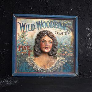 Wild Woodbine Sign