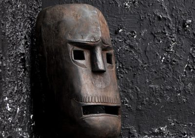 Carved Warrior Mask 3
