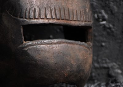 Carved Warrior Mask 4
