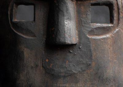 Carved Warrior Mask 2