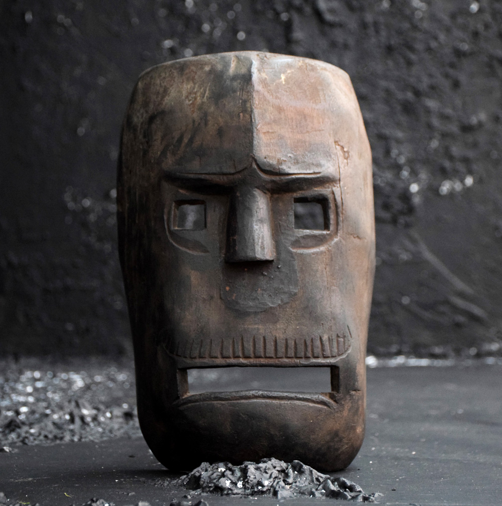 Carved Warrior Mask