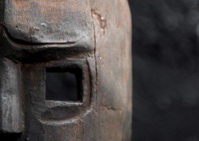 Carved Warrior Mask 8