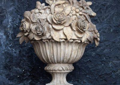 Regency Carved Urn *Sold 2
