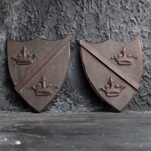 Mahogany Armorial Shields