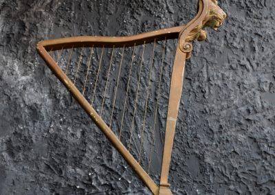 Folk Art Shop Display Harp 5