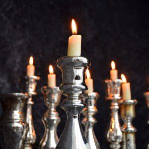 Mercury Candle Sticks c.1850