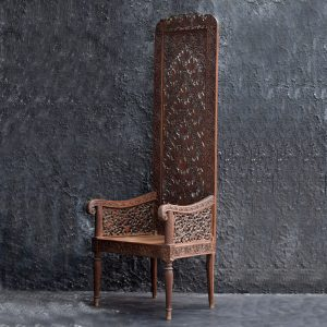 Rajasthani High Back Chair